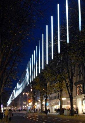 Kitschige Weihnachtsbeleuchtung.Rhetorik Ch Aktuell Kunst Kitsch Und Kunde