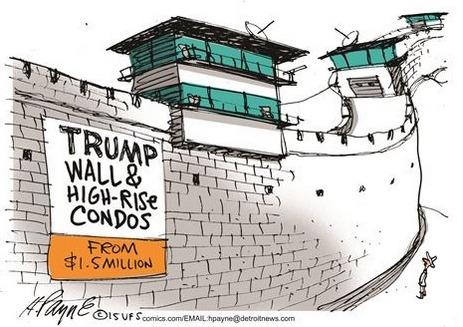 rhetorik.ch aktuell: Politische Karikaturen mit Trump