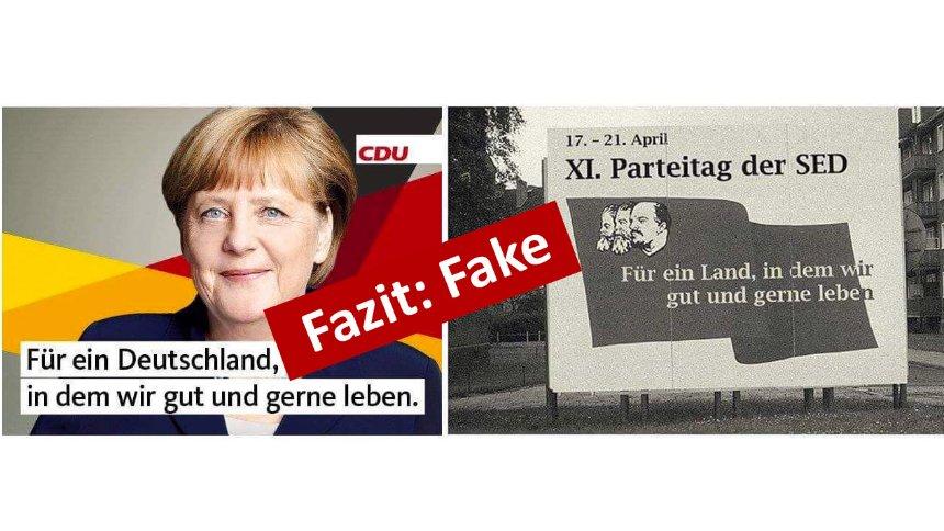 Merkel Sed Plakat