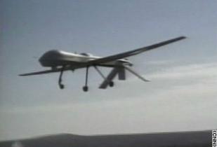 Militärische Drohnen im Einsatz